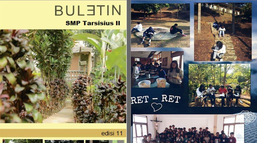 Buletin SMP Tarsisius 2 Edisi 11