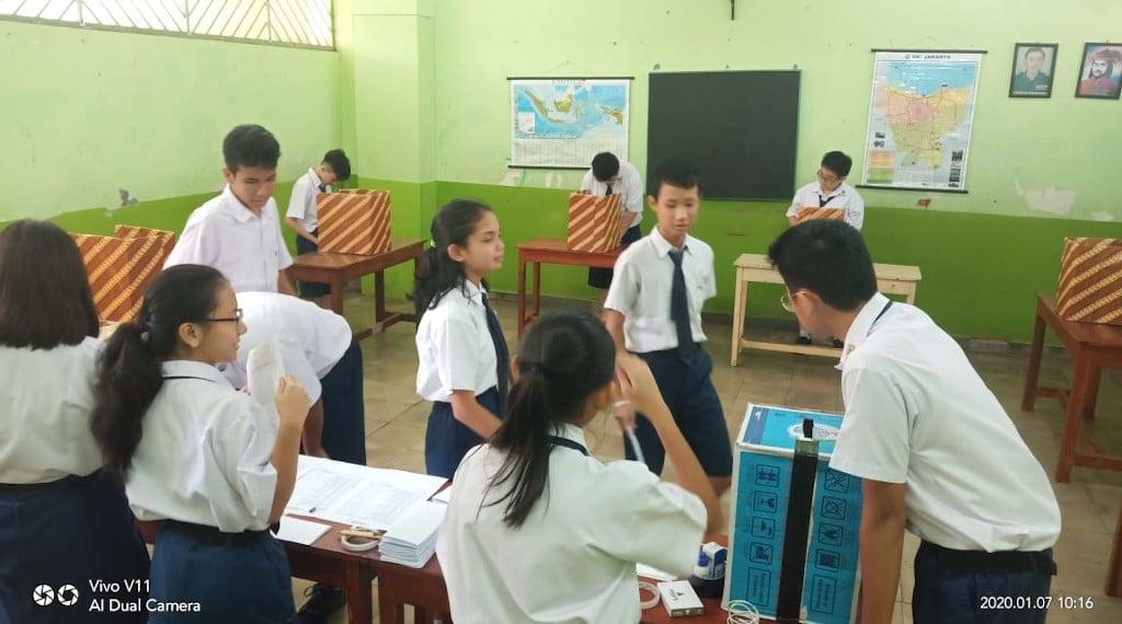 Pemilihan Ketua OSIS MPK SMP Tarsisius 2 2020