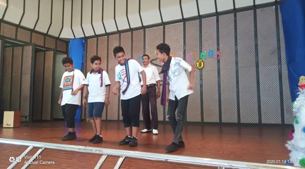 Senam Kreasi Siswa SMP
