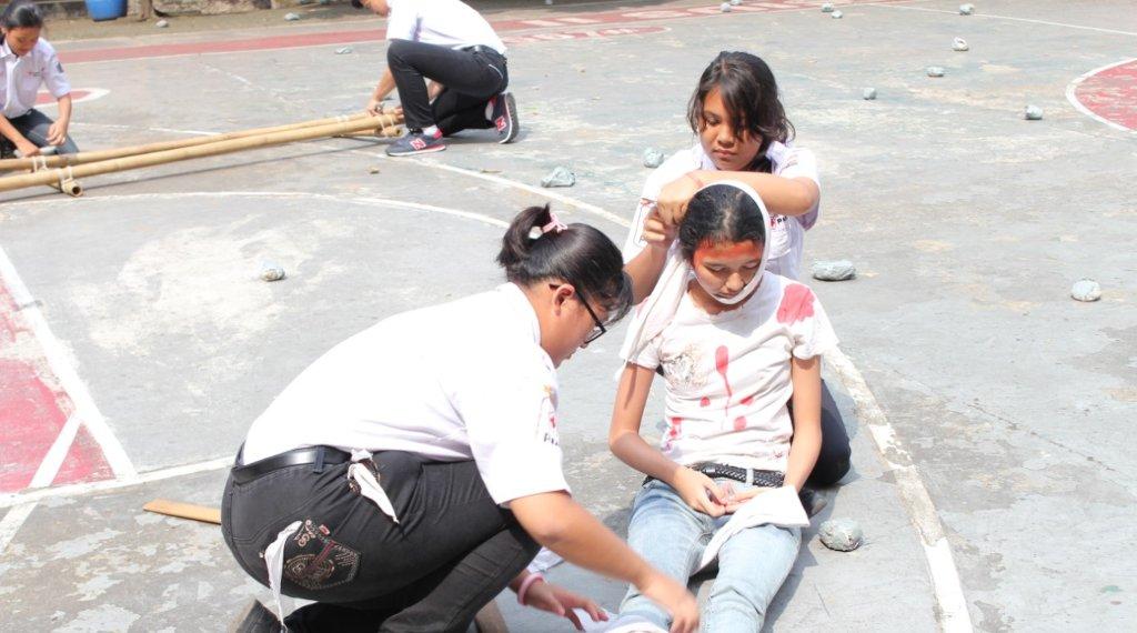 Ekstrakurikuler Palang Merah Remaja