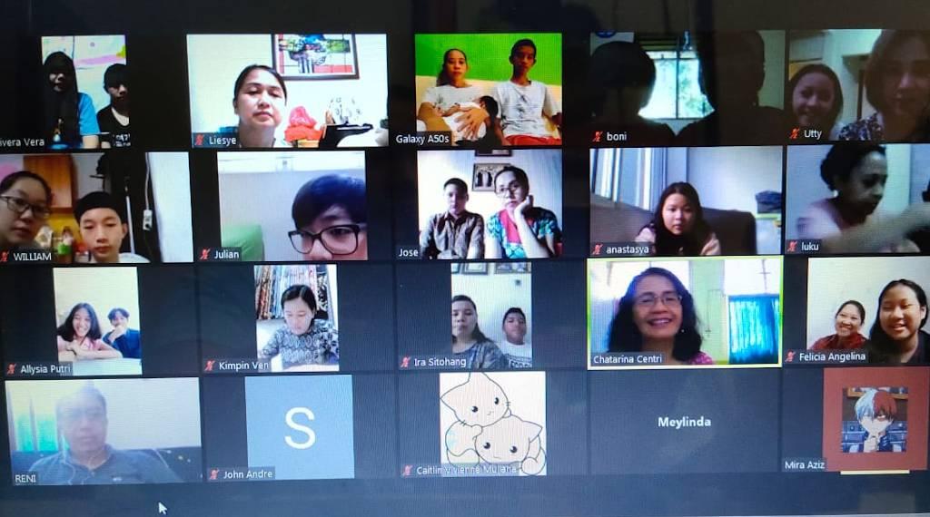 Pembagian Rapor Online SMP Tarsisius 2